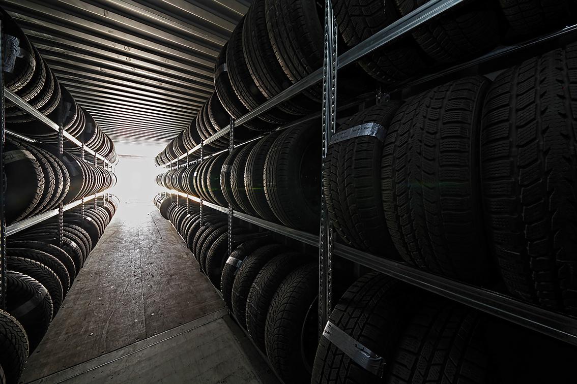 Reifeneinlagerung